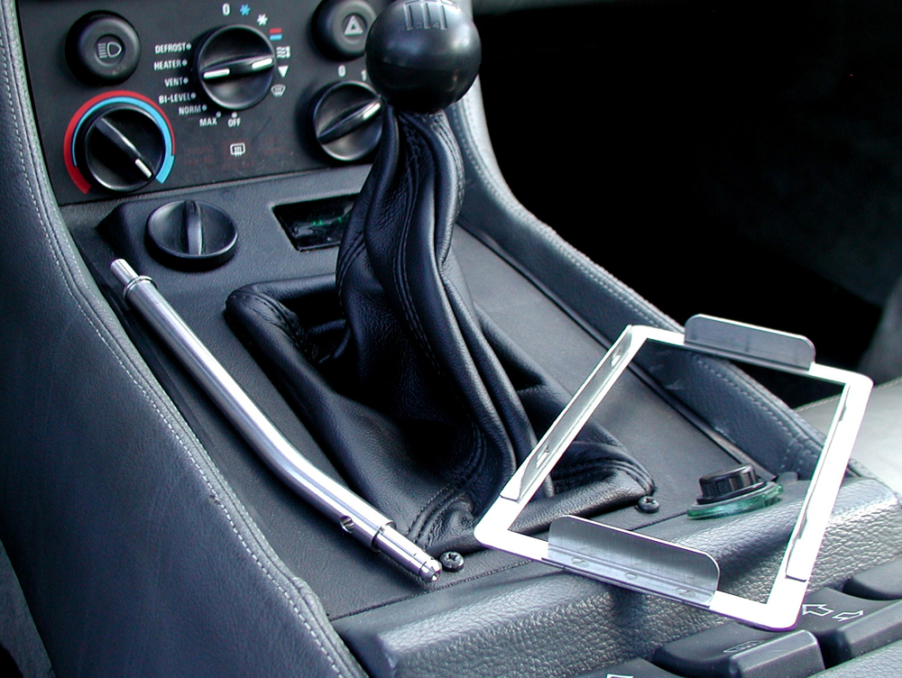 Shift boot, lever and frame